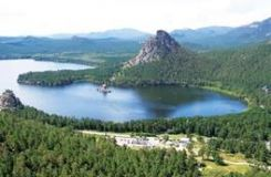 KAZAKHSTAN'S BURABAI RESORT FROM BIRD'S EYE VIEW