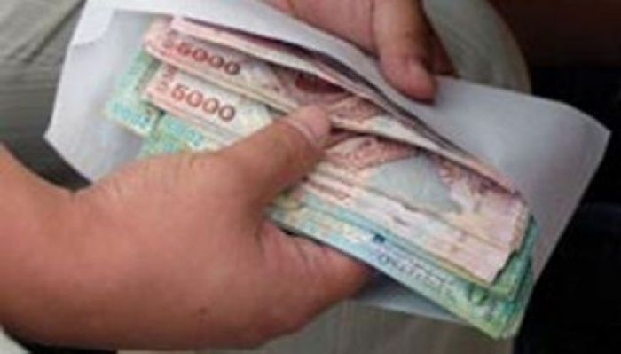 ​Officials were caught taking bribe in the amount of 1,5 million