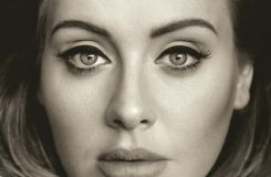 Adele performs a new song from her latest album '25',