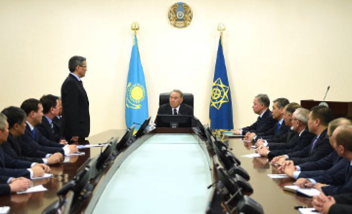 Vladimir Zhumakanov appointed the chairman of KNB