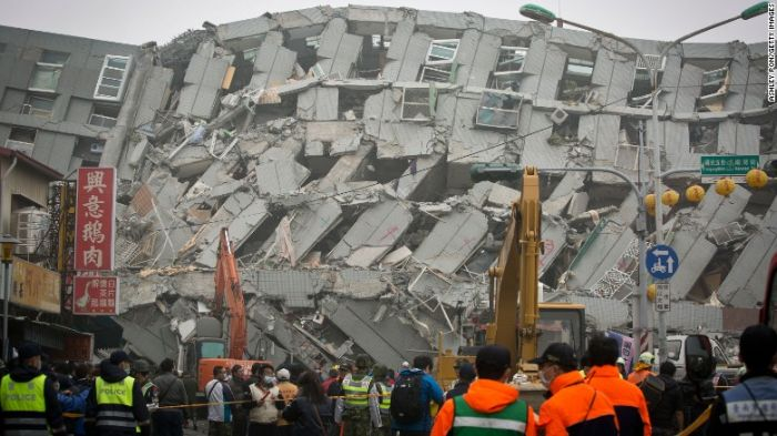 3 arrested for roles in construction of collapsed Taiwan apartment tower