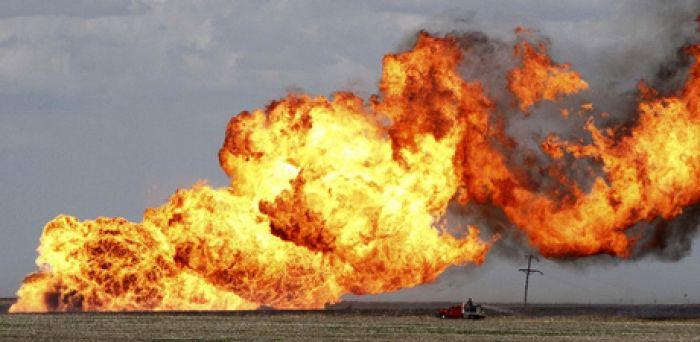 Oil pipeline blown up in Turkey