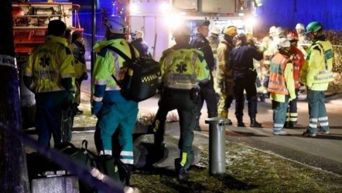 Explosion went off in Turkish Culture Center in Sweden