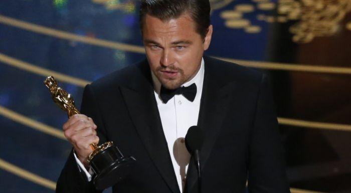 Oscars 2016: Leonardo DiCaprio finally gets his statuette