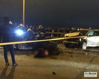 Three people dead in traffic accident on bridge