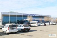 Chinese drunkenness at Atyrau airport