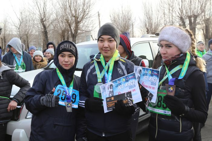 Winter Ice Race in Atyrau