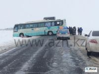 Three dead and 20 injured in collision