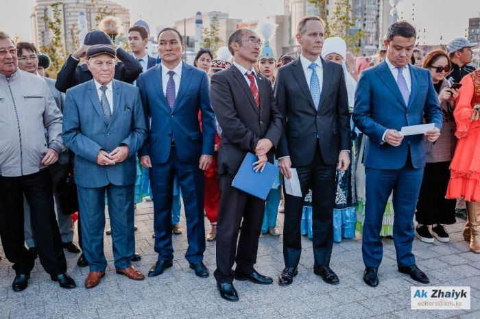 Official Opening of Issatay - Makhambet Square in Atyrau