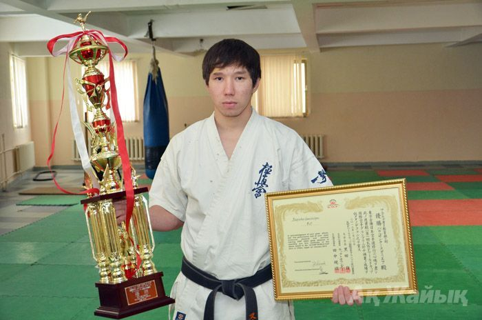 Karate athlete from Atyrau wins the World Cup