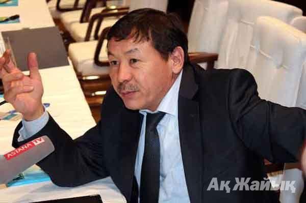 ТШО» ЖШС бас директорының орынбасары Әнуарбек ЖАКИЕВ