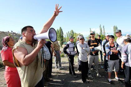 Оппозиция жақтастары, Қырғызстан. Фото: Vladimir Pirogov / Reuters
