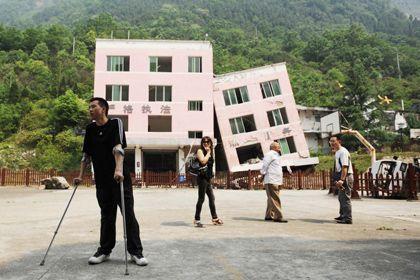 Қытайдағы зілзаланың зардаптары. Фото: AFP