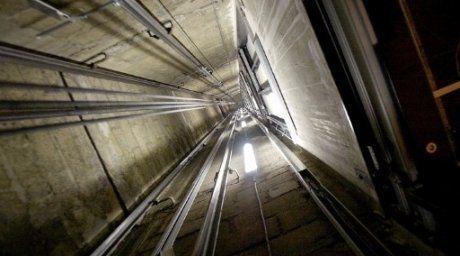 Лифт шахтасы. Фото ©AFP