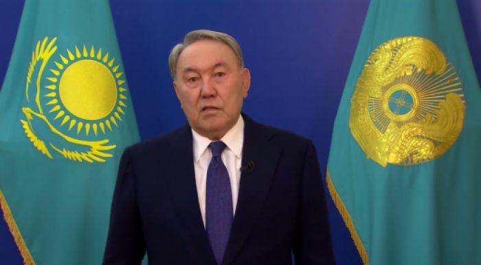 Назарбаев қазақстандықтарға видеоүндеу жолдады