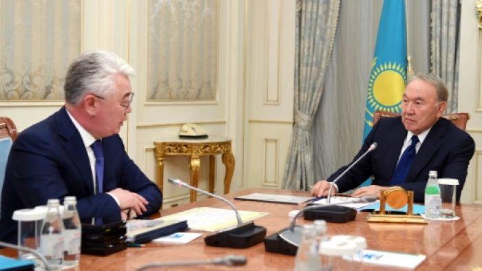 Назарбаев Атамқұловты қабылдады