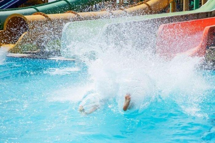 Шымкенттің аквапаркінде суға тұншыққан бала есін жиды