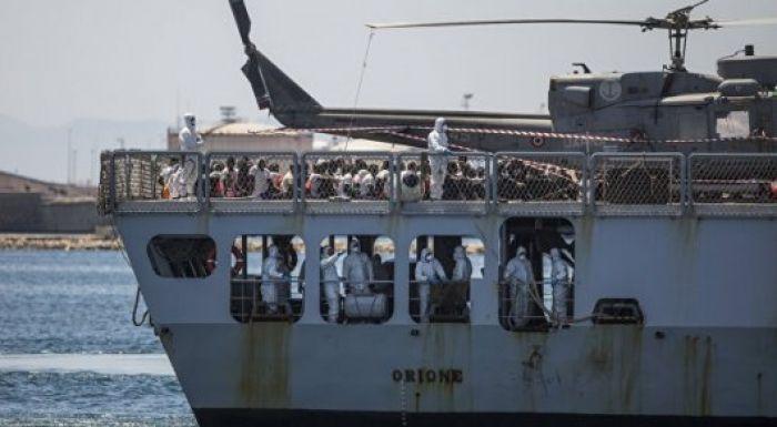 Италия билігі құтқарушыларға босқындары бар кемелерге көмектесуге тыйым салды
