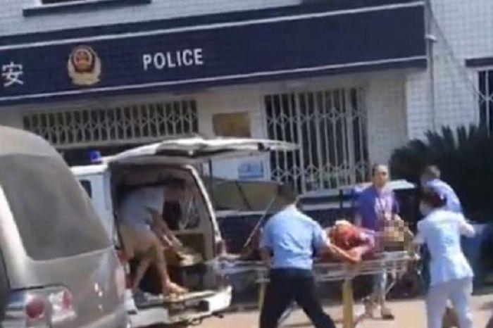Қытайда полиция учаскесіне шабуыл жасалды