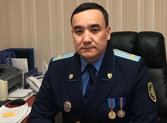 Атырау қаласының жаңа прокуроры тағайындалды