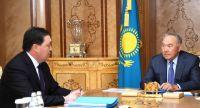 Назарбаев премьер-министр Маминді қабылдады