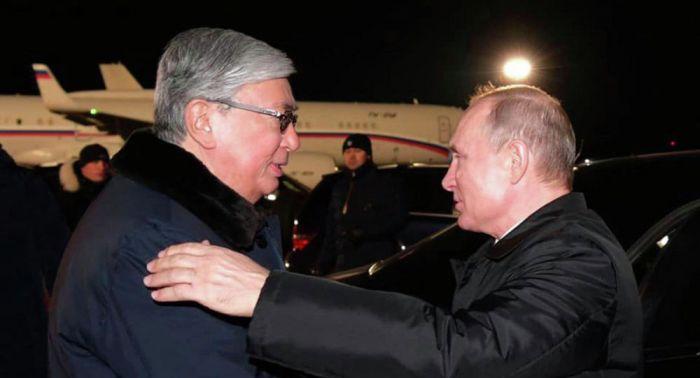 Путин Тоқаевқа ерекше құрмет көрсетті