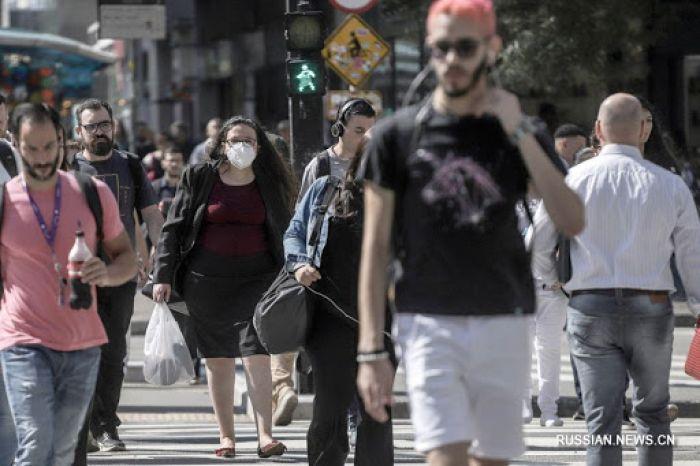 Бразилияда бір тәулікте вирус 26 мың 928 адамға жұқты