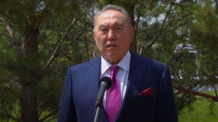 Нұрсұлтан Назарбаев видеоүндеу жасады