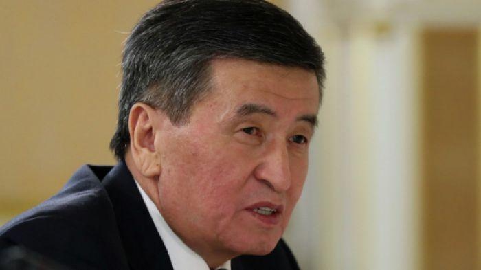 Қырғызстан президентінің үстіне елдегі коронавирус жағдайына байланысты арыз түсті