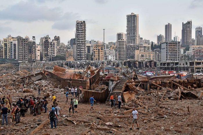 Ливан билігі жарылысқа байланысты 16 адамды қамауға алды