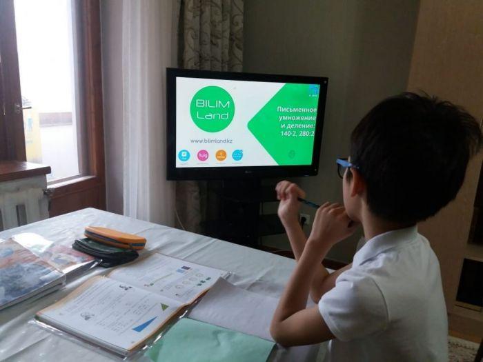 Атырау облысындағы оқу жылының алғашқы аптасы: байланыс нашар