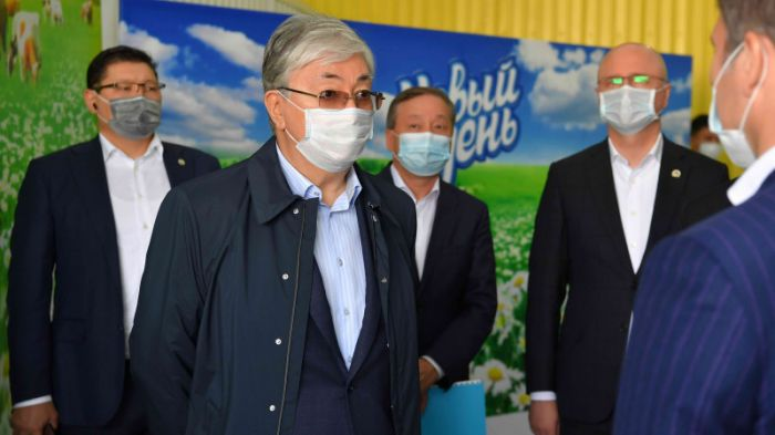 Президент Қостанай облысының шаруаларымен кездесті