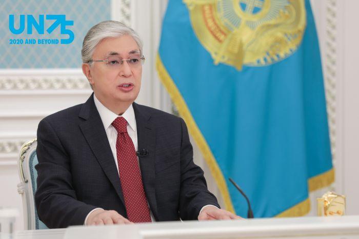 Тоқаевтың БҰҰ Бас Ассамблеясының сессиясында сөйлеген сөзі