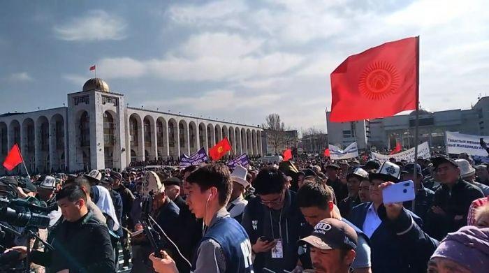 Қырғызстанда митингіге шыққандардың басты талабы орындалды