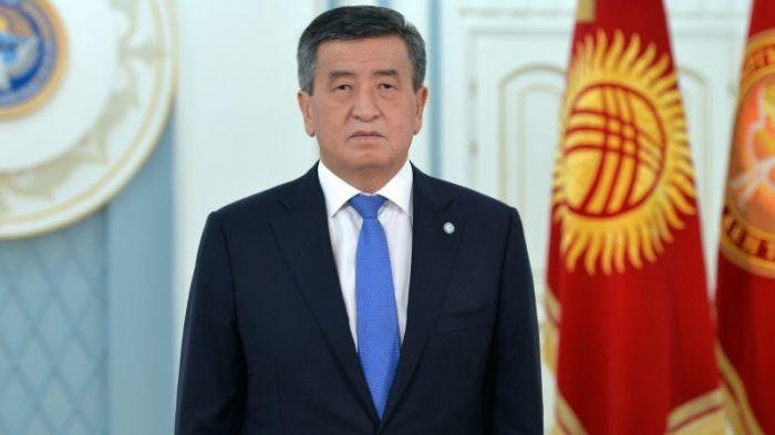 Қырғызстан президенті мәлімдеме жасады