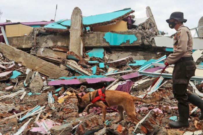 Индонезияда жер сілкінісінен қаза тапқандар саны 80-ге жуықтады