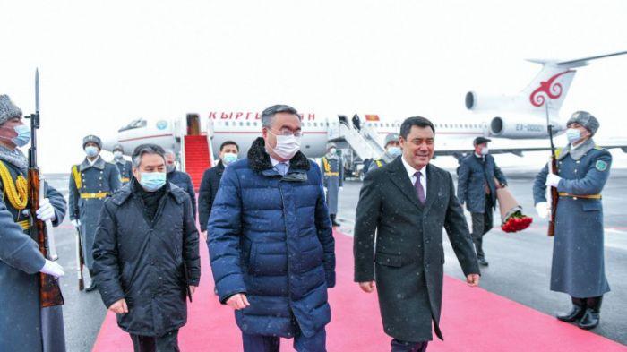 Қырғызстан президенті Нұр-Сұлтанға келді