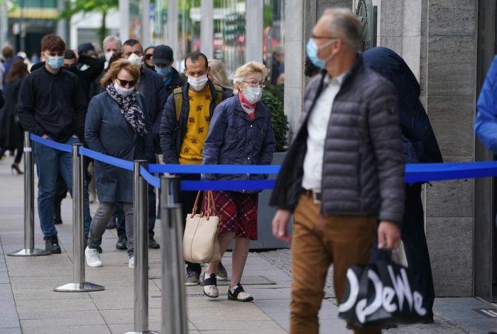 Германияда локдаун ұзартылды
