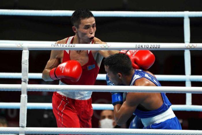 Токио Олимпиадасы: тағы бір боксшымыз жеңіске жетті