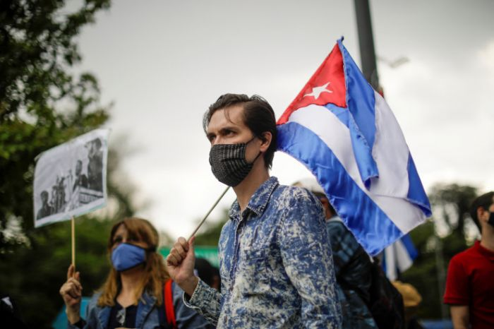 Кубада митингке қатысқан 500-ге жуық адам жоғалып кетті