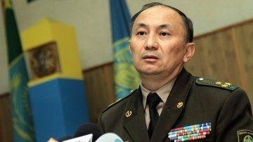 Қазақстанның шекара қызметі басшысының міндетін атқарушы Тұрғанбек Стамбеков