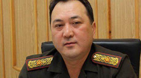 Начальник академии пограничной службы КНБ РК Талгат Есетов. Фото Tengrinews.kz.