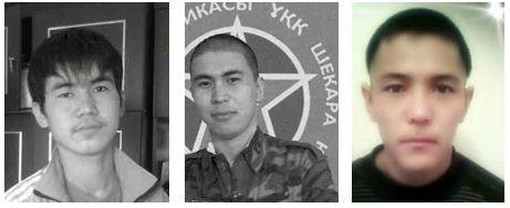 Данияр Балгабаев, Женис Сагынгалиев и Бекзат Амиргалиев