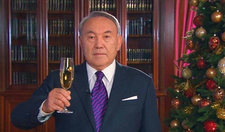 Новогоднее поздравление назарбаева прямой эфир