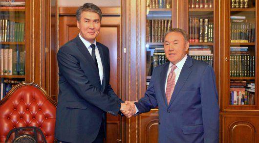 Фото  elana.kzВ Астане Президент Казахстана Нурсултан Назарбаев ... 70893fb701f