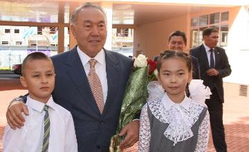 племенными поздравление назарбаева с 1 сентября телом