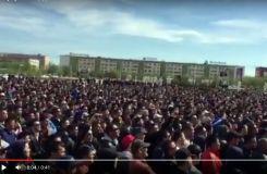 Атырау. Площадь Исатая и Махамбета 24.04.2016