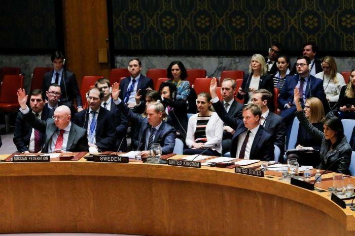 Совбез ООН единогласно принял резолюцию о 30-дневном перемирии в Сирии