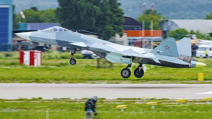 Минобороны РФ перебросило Су-57 в Сирию