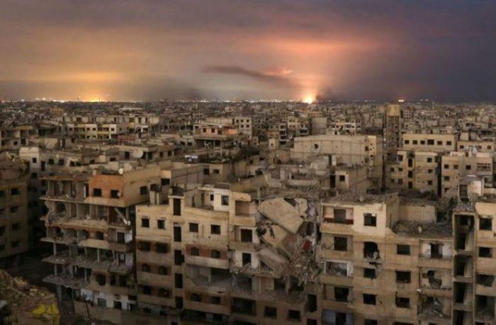 Бомбардировки Восточной Гуты продолжаются, несмотря на резолюцию ООН